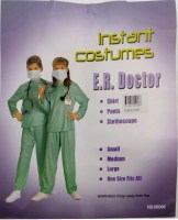 31814928 COSTUMES INSTANT E.R. DOCTOR 08008 EACH R240