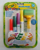 071662043698 DOODLE MAGIC CRAYOLA ON CARD 60667 CARD R48