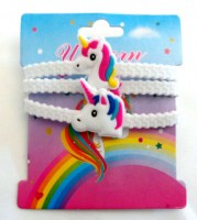 27202135 BRACELET RUBBER UNICORN KINDOM 3PCS CARD R20