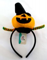 31817325 ALICEBAND PUMPKIN WITH HAT+PLATTED EACH R36