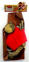 31818926 WESTERN COWBOY SET WITH ACCES.SET R1007