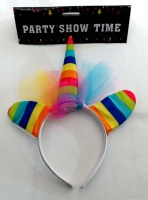 31819466 ALICEBAND UNICORN RAINBOW WITH EARS +NET R46