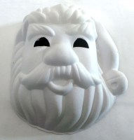31819862 MASK DIY SANTA FACE 20X24CM EACH R14