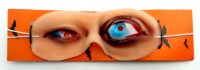 31917438 MASK LATEX EYES 13CM EACH R24