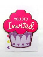 37200442 INVITATIONS CROWN SHAPES 982801 8PC PK R36