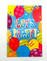 37200466 PARTY INVITATION CARDS 8PC PK EACH PACK R32