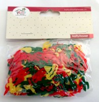 37208431 CONFETTI MAXICAN (RED+GN+YELLOW) 14G PK R15