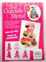 37209735 3 TIER CUPCAKE STAND PAPER UNICORN EACH R48