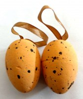 37403157 EASTER EGGS HANGING 4X6CM 6PCS PACK PACK R202