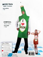 37501440 COSTUME ADULT BEER MAN 83552 EACH R398