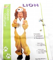 37503680 COSTUME CHILDREN LION HY1379-1 EACH R300