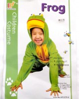 37503710 COSTUME CHILDREN FROG HY1379-6 EACH R258