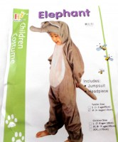37503727 COSTUME CHILDREN ELEPHANT HY1379-7 EACH R258