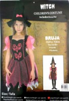 37504298 COSTUME KIDS WITCH 98825 EACH R450