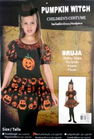 37504366 COSTUME KIDS PUMPKIN WITCH 98828 EACH R338