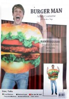 37504458 COSTUME ADULT BURGER MAN 99770 EACH R330