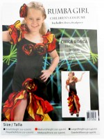 37504564 COSTUME CHILDREN RUMBA GIRL 881272 EACH R360