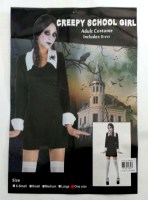 37504847 COSTUME ADULT CREEPY SCHOOL GIRL 086934 R300