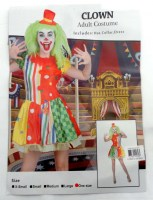 37504953 COSTUME ADULT CLOWN (FEMALE) 093501 EACH R395