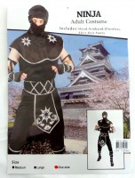 37505455 COSTUME ADULT NINJA (MALE) 093516 EACH R495