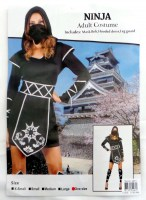 37505462 COSTUME ADULT NINJA (FEMALE) 093517 EACH R395