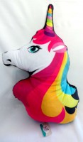 37800482 CUSHION UNICORN 50X28CM 220GM EACH R170