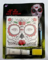 37908577 DAY OF THE DEAD FACE JEWELRY 70837 EACH R223