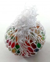 37908997 MESH SQUISH BALL MULTICOLOR 6CM EACH R12