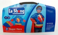 38891007 COSTUME LE SHENG SUPER HERO 09100 EACH R370