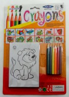 38900136 CRAYONS NEW 010A EACH CARD R17