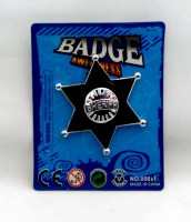 38900631 BADGE SHERIFF AWFULNESS 0063 EACH R8
