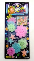 38902161 GLOW IN THE DARK STARS MOON SG21006ABCD R24