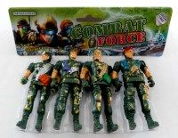 38915215 COMBAT FORCE 4 SOLDIERS 1520 PACK R17