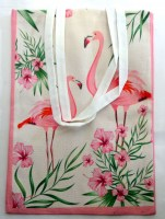41263532 BAG FLAMINGO 30X40CM EACH R59