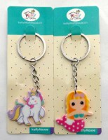 51105389 KEYRING UNICORN IRON 4CM EACH R134