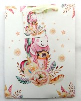 51814649 GIFT BAG UNICORN+BALLOON (S) 18X23X10CM R15