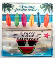 51908676 IRON PLATE HELLO SUMMER 30X15CM EACH R30
