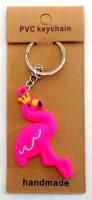 57101606 KEYRING RUBBER FLAMINGO EACH R10