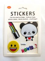 61610972 STICKERS CAN BE USED 3PCS CARD EA.CARD R7