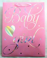 67609741 GIFT BAG BABY BOY GIRL SHINE (M)26X32X12  R28