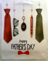 67609932 (2) GIFT BAG FATHER;S DAY 33X26X10CM EACH R20