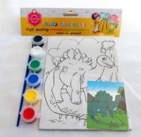 67800254 KIDS PAINTING SET 13X18CM EACH SET R38