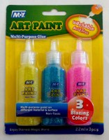 67901982 ART PAINT M.Y (GLITTER GLUE)3PCS CARD CD R26