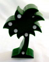 81501618 BO LED LIGHT COCONUT TREE 15CM EACH R564
